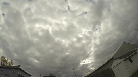 Cloud Formations Time Lapse (Ver #2): Looping Animation