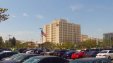 Veteran's Affairs Medical Center Long Beach CA stock footage
