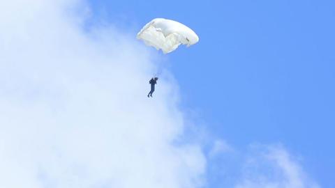 Paraglider Footage