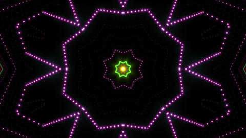 Neon tube Kaleidoscope b C 2 HD Animation