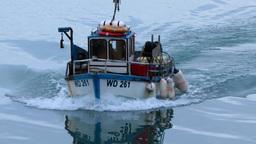 Crab Fishing Boat Footage