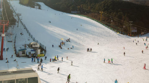 Seoul Ski Resorts 2 Footage