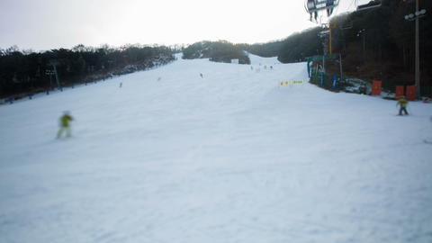 Seoul Ski Resorts 4 Footage