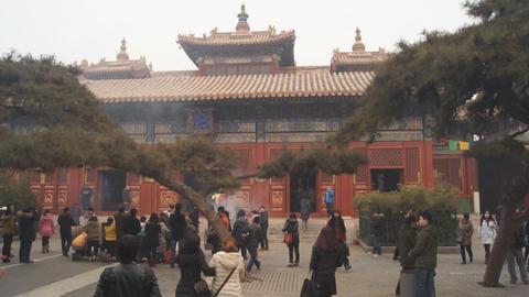 Beijing Lama Temple Yonghegong 10 Footage