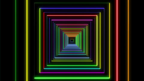 Neon tube T Fb A L 1 HD CG動画
