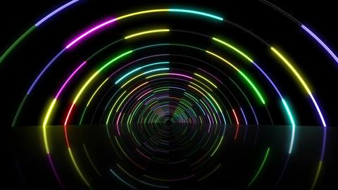 Neon tube T Fy A S 1 HD CG動画
