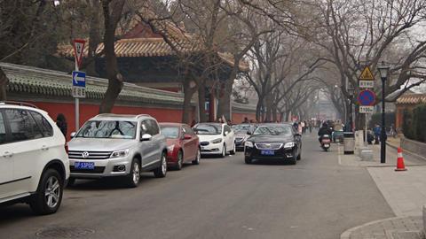 Beijing Guozijian Street Footage