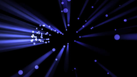 Blue Light Drops and Rays - 01 Stock Video Footage