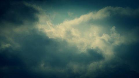 Spectacular clouds cover sky,Altocumulus,dusk Animation