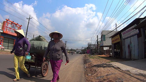 Vietnamese women Footage