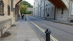Hertford Bridge Also Known As Bridge Of Sighs Oxfo stock footage
