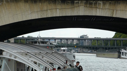 River Seine Cruise Near Pont D