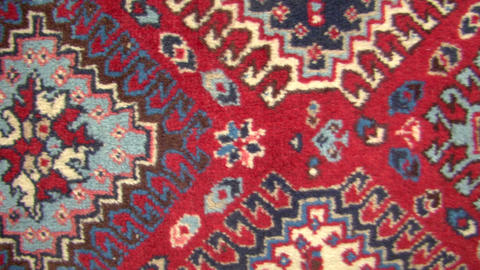 Texture Track Carpet Persian 01 stock footage