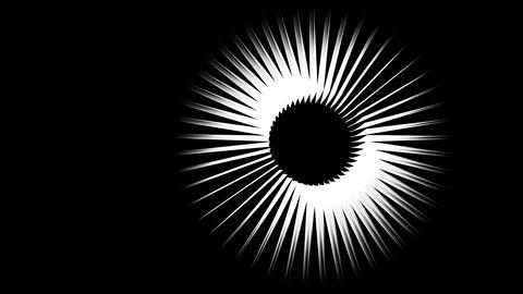 Lines sun Animation