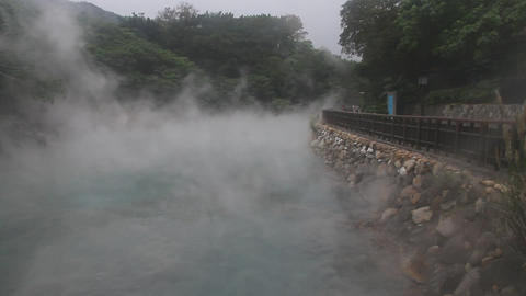 close view of thermal valley steam 4 Animation