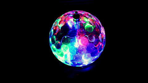 LED Light ball, Full HD Footage