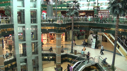 Shopping Mall In Astana Kazakhstan stock footage