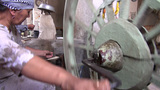 Traditional silk production in Central Asia Footage