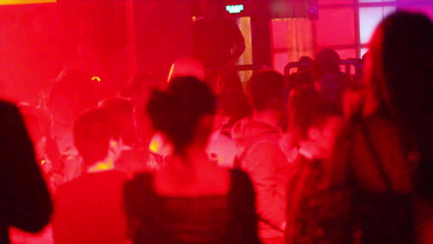 a scene in a popular beijing night club Live Action