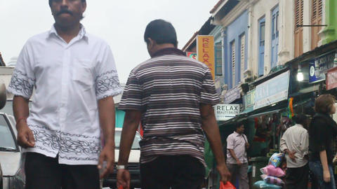 Little india Singapore 2 Footage