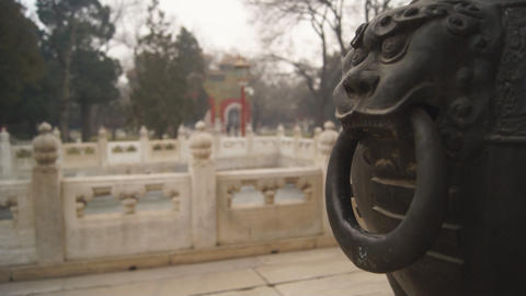 China Beijing Guozijian 03 stock footage