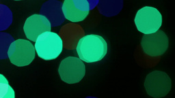 Bokeh Christmas stock footage
