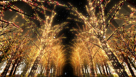 illumination tree neon 2 Dd 4s HD Animation