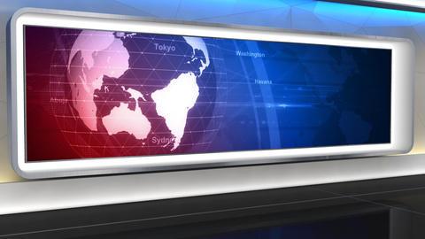 News Studio 99 C 4 HD Animation