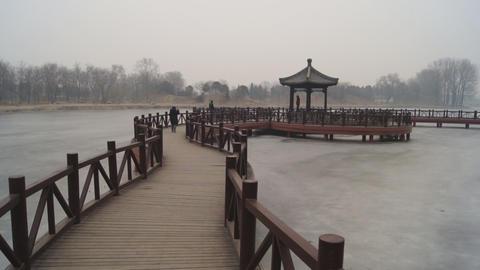 China Beijing Park Yuanmingyuan 05 Footage