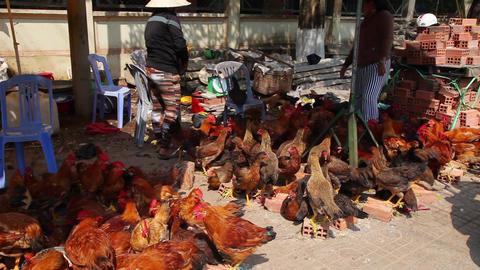 Asia market. Vietnam Footage