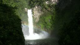 Waterfall, Batad, Philippines Footage