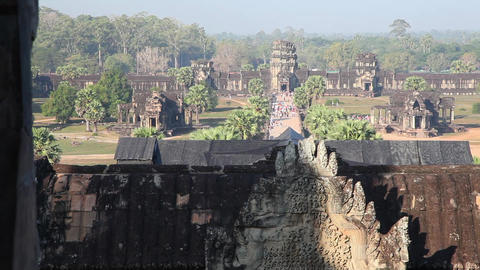 Angkor Wat Footage