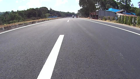 Road markings Footage