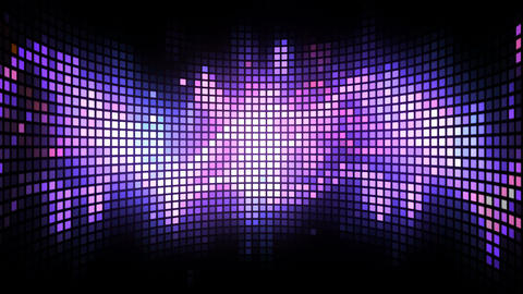 Curved Dance Light Box Background Animation