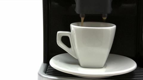 Having a Cup of Espresso Footage