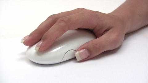Using a Computer Mouse Footage
