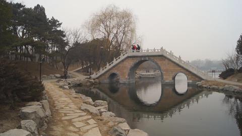 China Beijing Park Yuanmingyuan 09 Footage