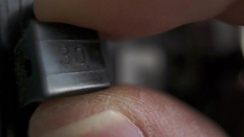 Electrical Breaker Switch Macro Footage