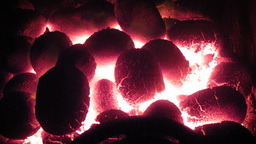 Stove Nuggets stock footage