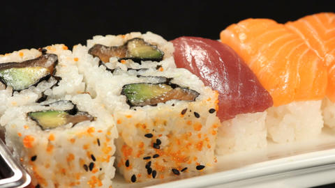 Sushis rotating Footage