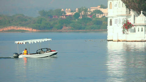 Lake in Udaipur Footage