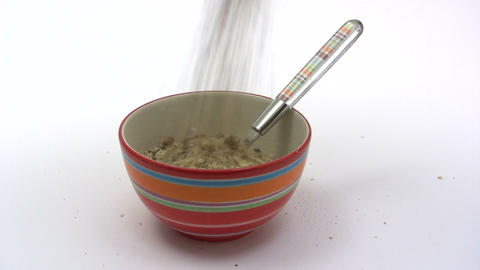 Breakfast Cereals stock footage