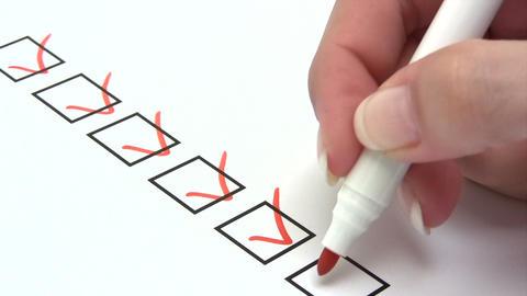 Checklist Footage