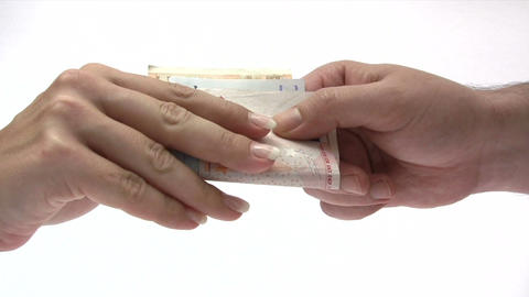 Paying Money Footage