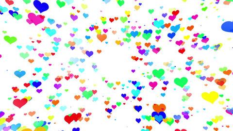 Sparkle Heart Particles W LA 2 HD CG動画