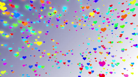 Sparkle Heart Particles W MA 2 HD Animation