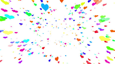 Sparkle Heart Particles W MB 2 HD CG動画