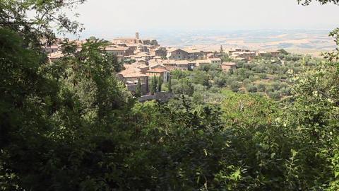 Buildings At Hillside Footage