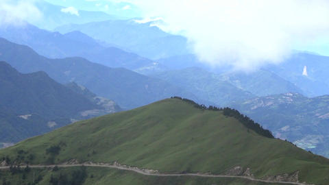 Hehuanshan National Forest park . taiwan Footage