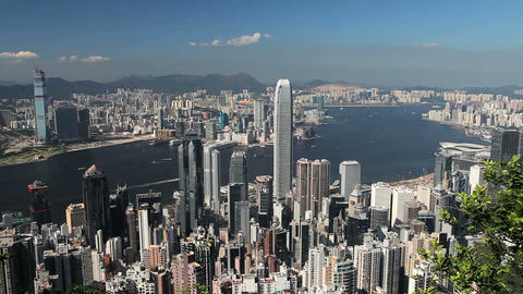 Hong Kong, China stock footage